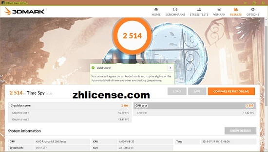 3DMark 2.20.7274 Crack With Activation Key Download Latest 2021